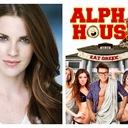 "Melanie Parker (Jean-Louise O'Sullivan) in ""Alpha House"""
